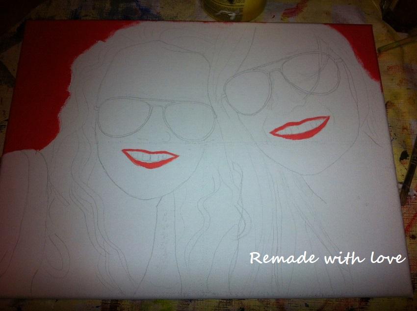 schilderij maken
