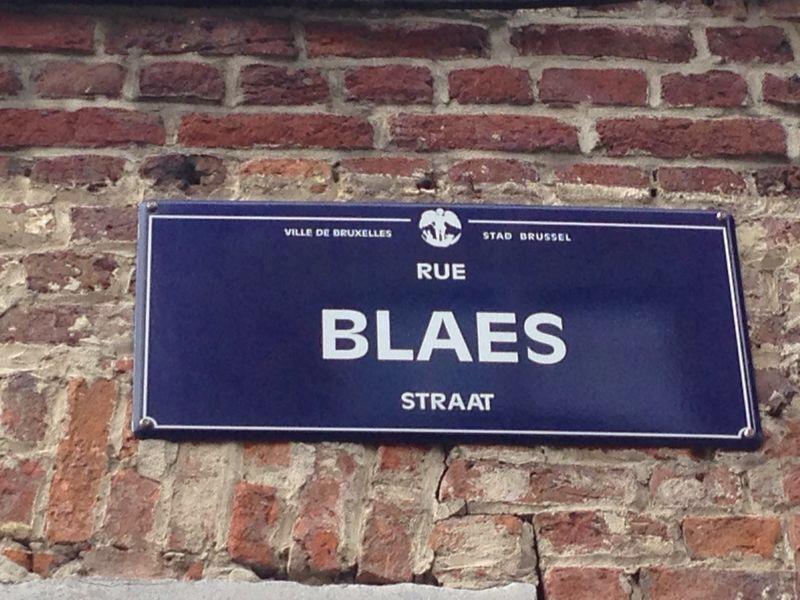 Rue Blaes brocante markt