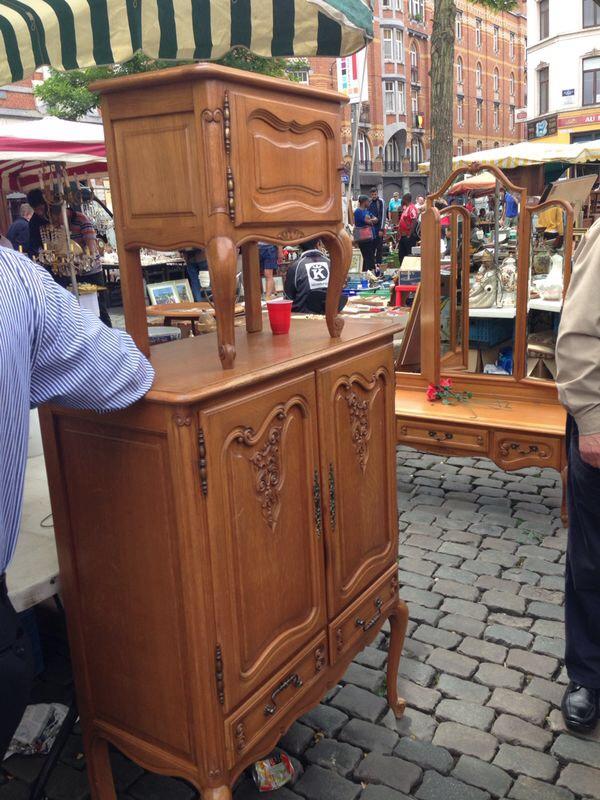 Brocante markt brussel