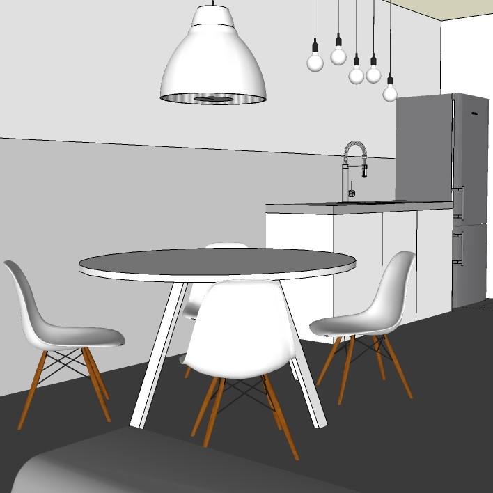 stoere keukens en scandinavische keukens  remade with love, Meubels Ideeën