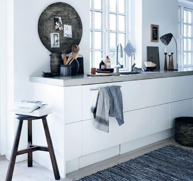 Keuken Nieuwbouwwoning : Concrete Kitchen Top
