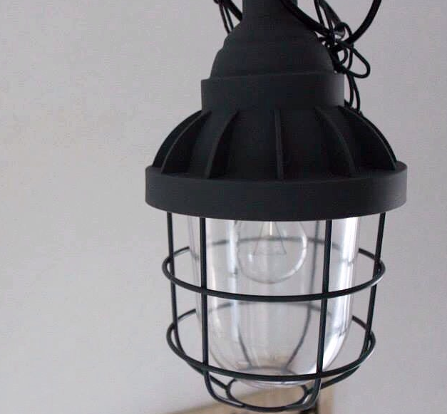 kwantum industriele kooilamp bully lamp