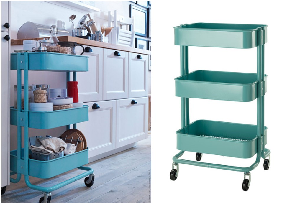 Keukentrolley Kwantum : IKEA TROLLEY RASKOG (KEUKENTROLLEY) REMADE with love