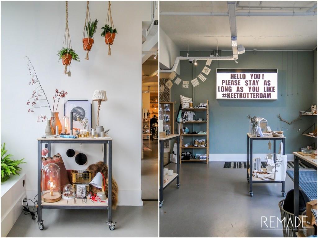 Hotspots rotterdam leuke winkels en restaurants for Interieur winkels