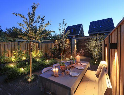 sfeervolle verlichting tuin in lite