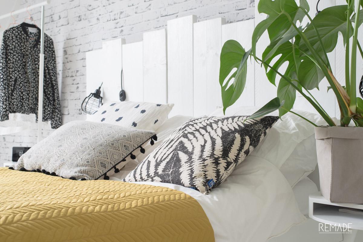 scandinavische slaapkamer bohemian touch bedsprei fest amsterdam