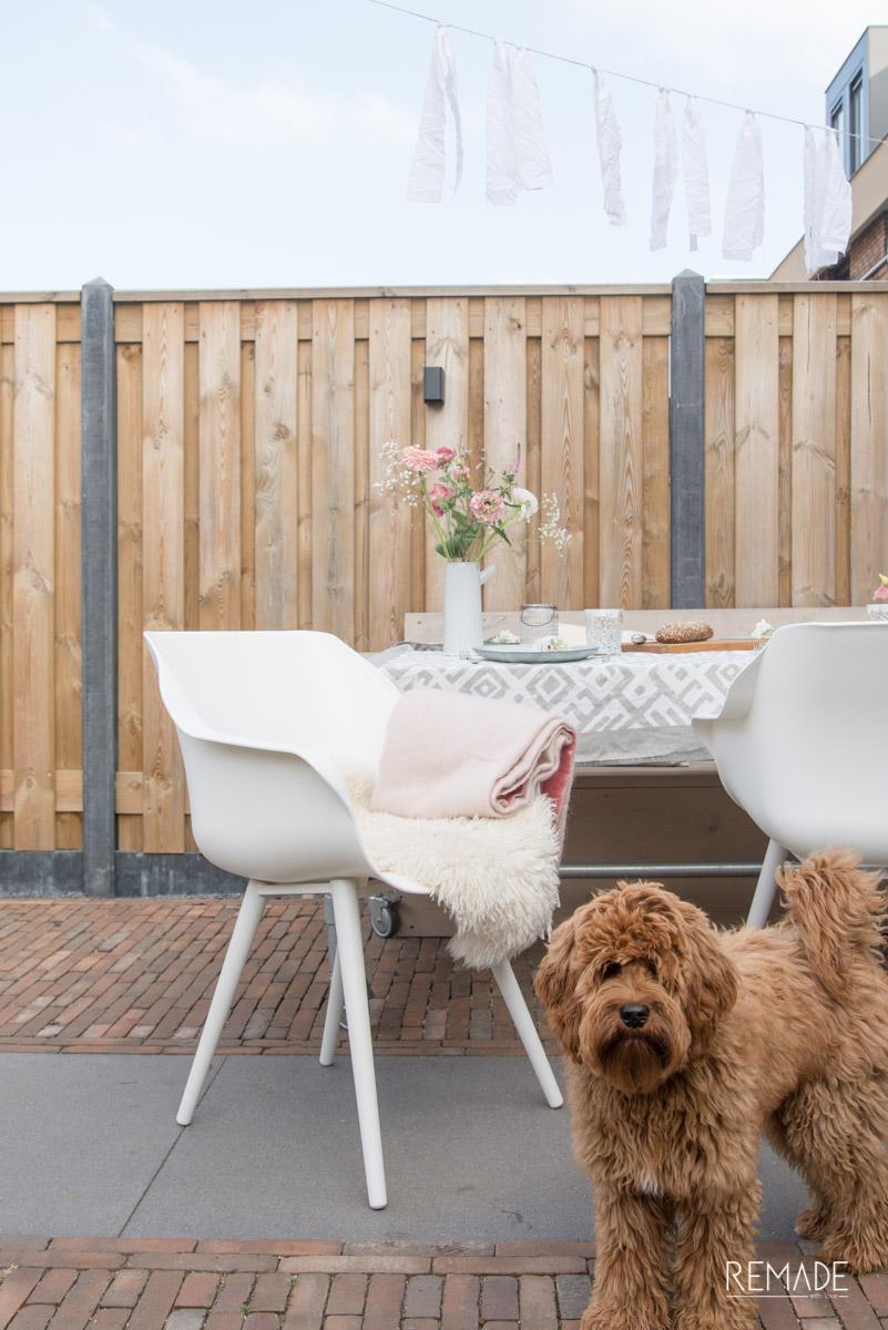 tafeldecoratie voorjaar tuinstoel hartman sophie studio