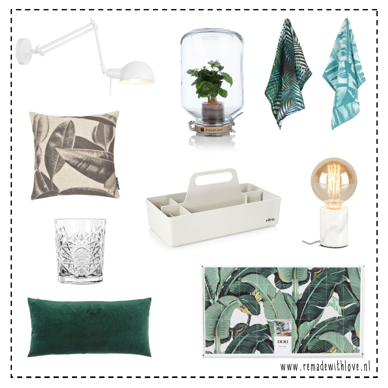 Scandinavische en botanische woonaccessoires remade with love for Scandinavische cocktail
