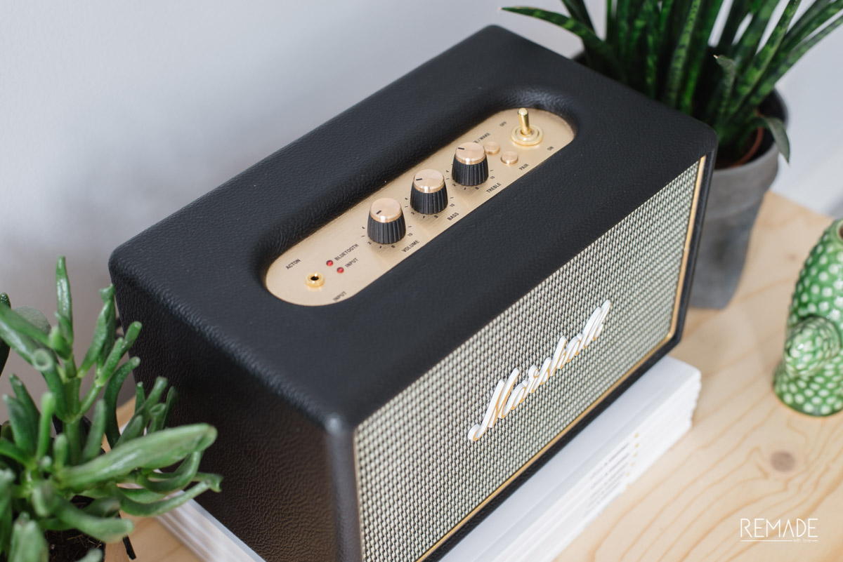 marshall speaker bluetooth speaker Marshall acton draadloze speaker