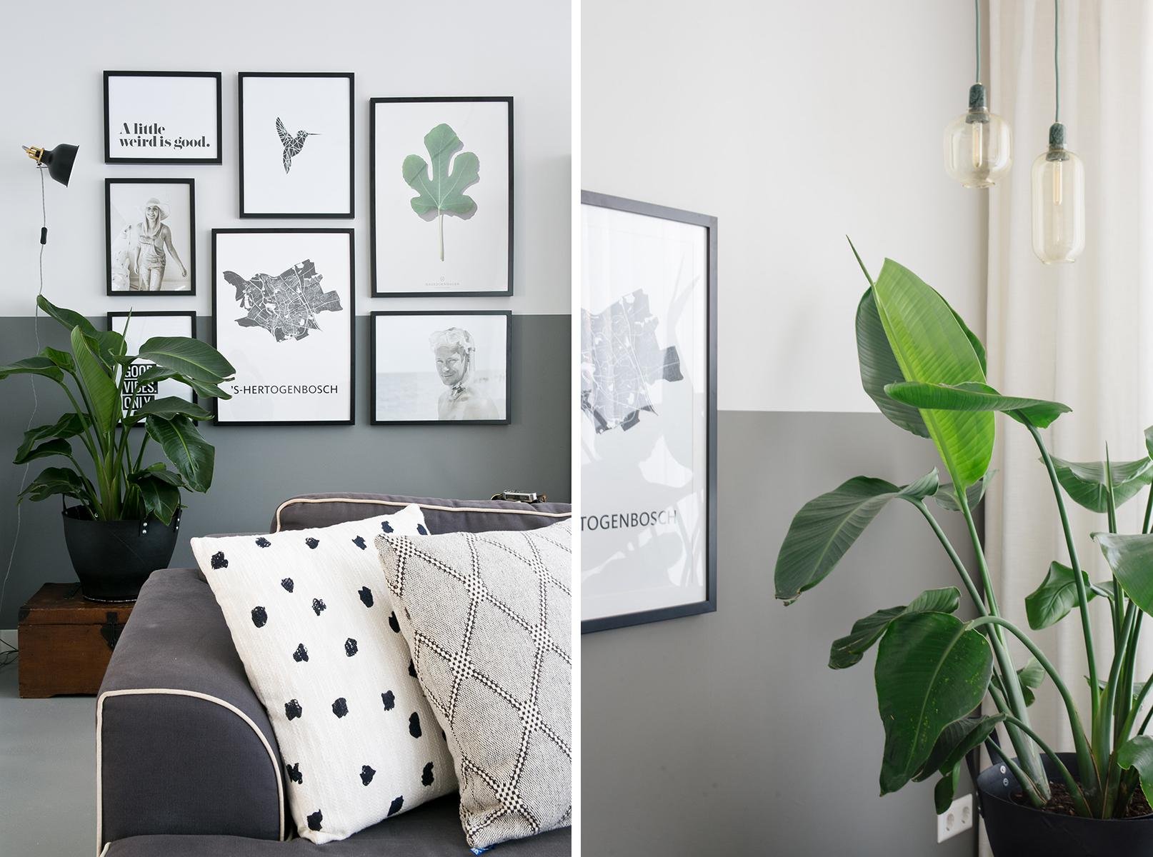 Sfeerverlichting woonkamer: nieuwe lampen achter de bank | REMADE ...