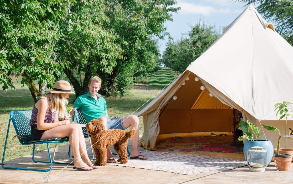 Overnachten bij Côté Verger: B&B en camping in de Dordogne