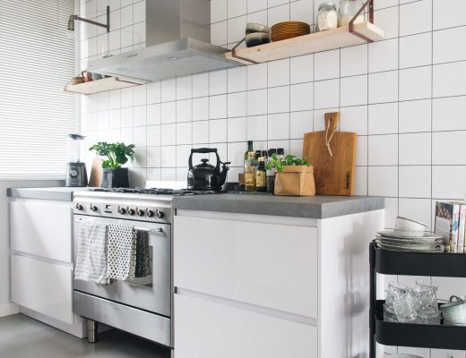 keukenlamp keukenplank scandinavische keuken