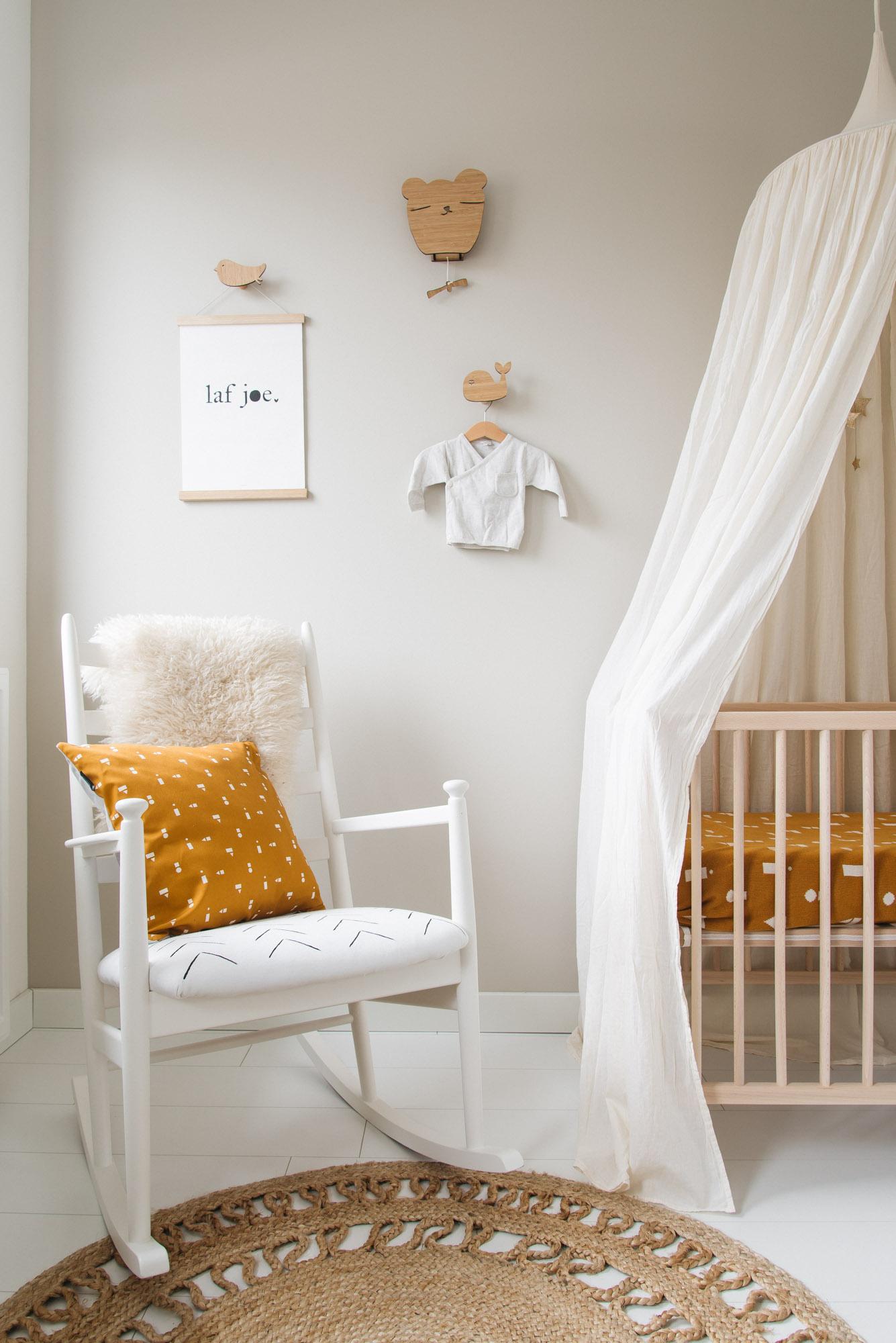 babykamer inspiratie ted & tone schommelstoel