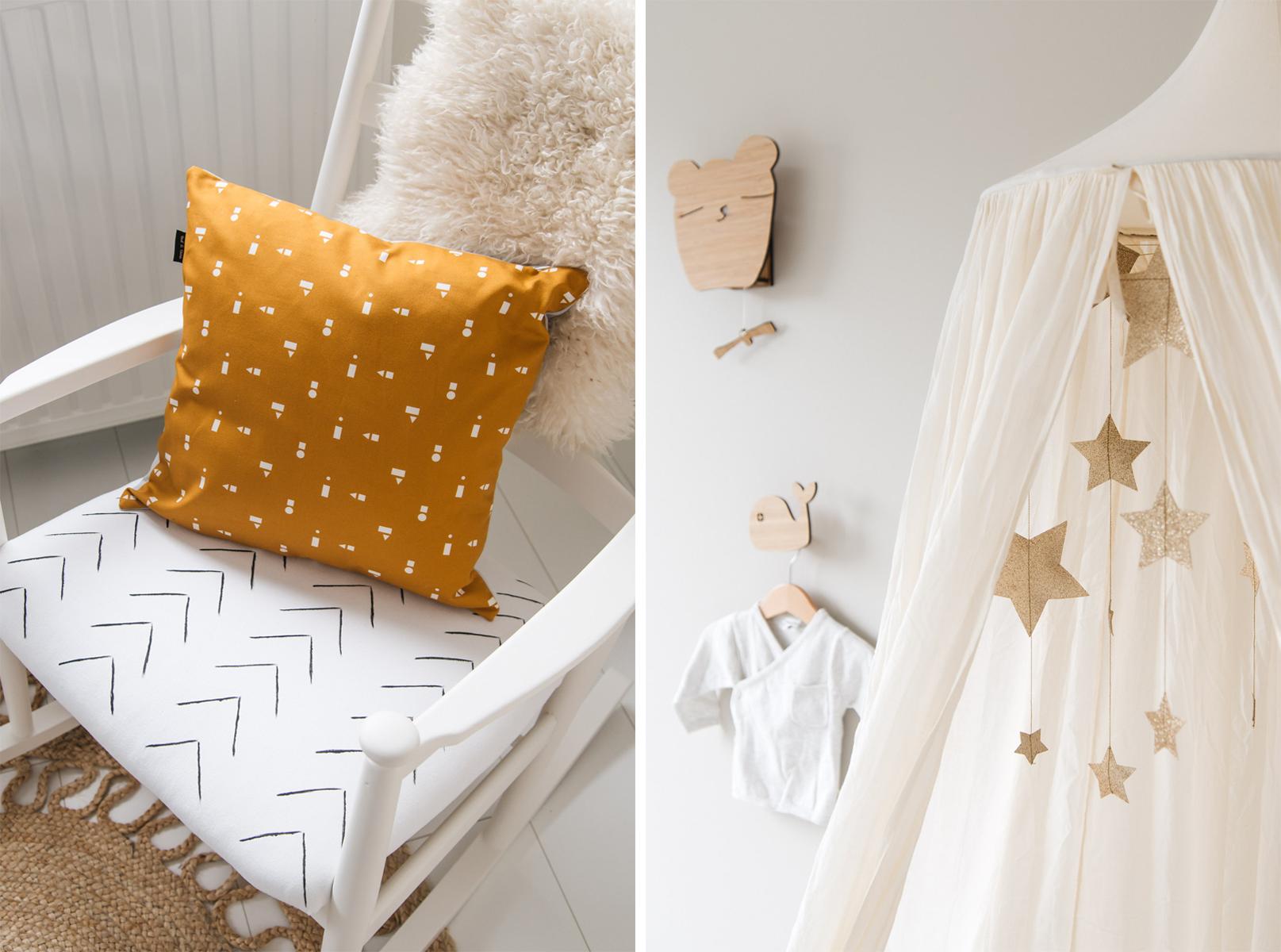 Schommelstoel Babykamer Marktplaats : Babykamer inspiratie met okergele accessoires van ted tone