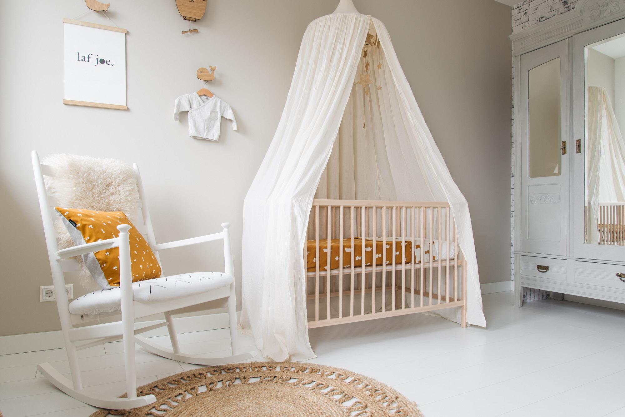 Voorkeur Babykamer inspiratie met okergele accessoires van Ted & Tone #LD25