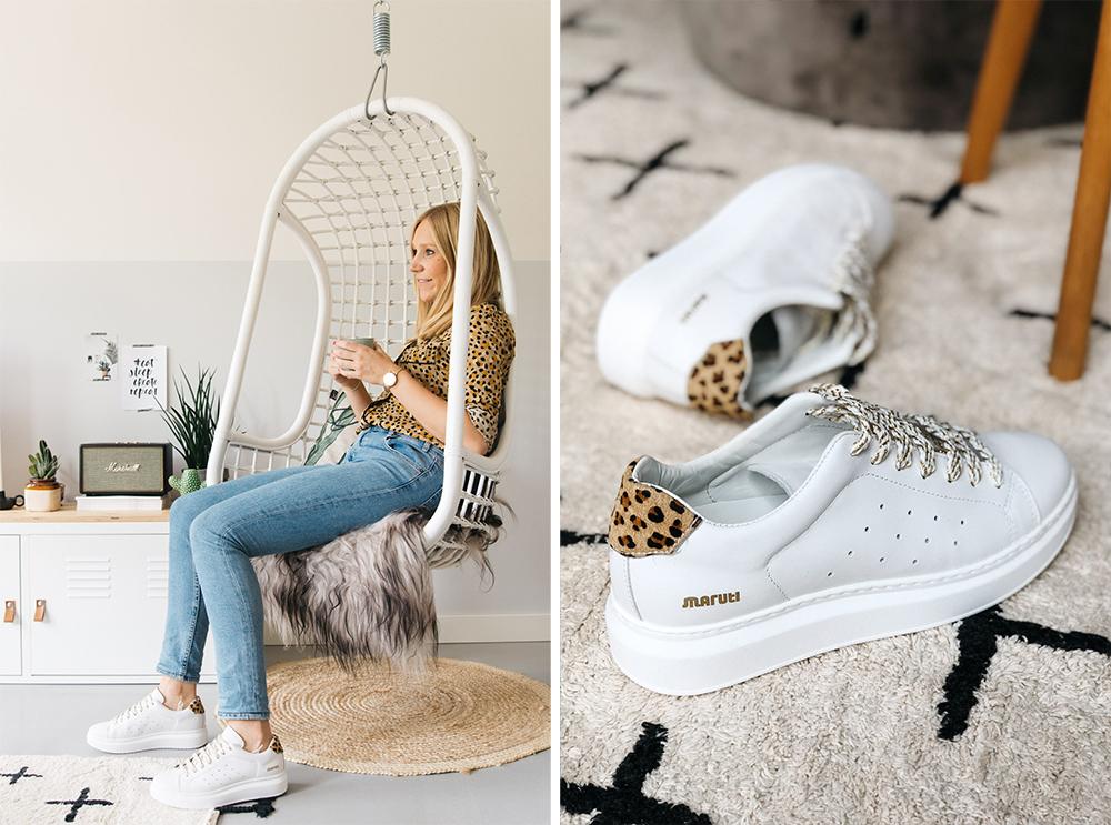 Maruti schoenen sneaker wit