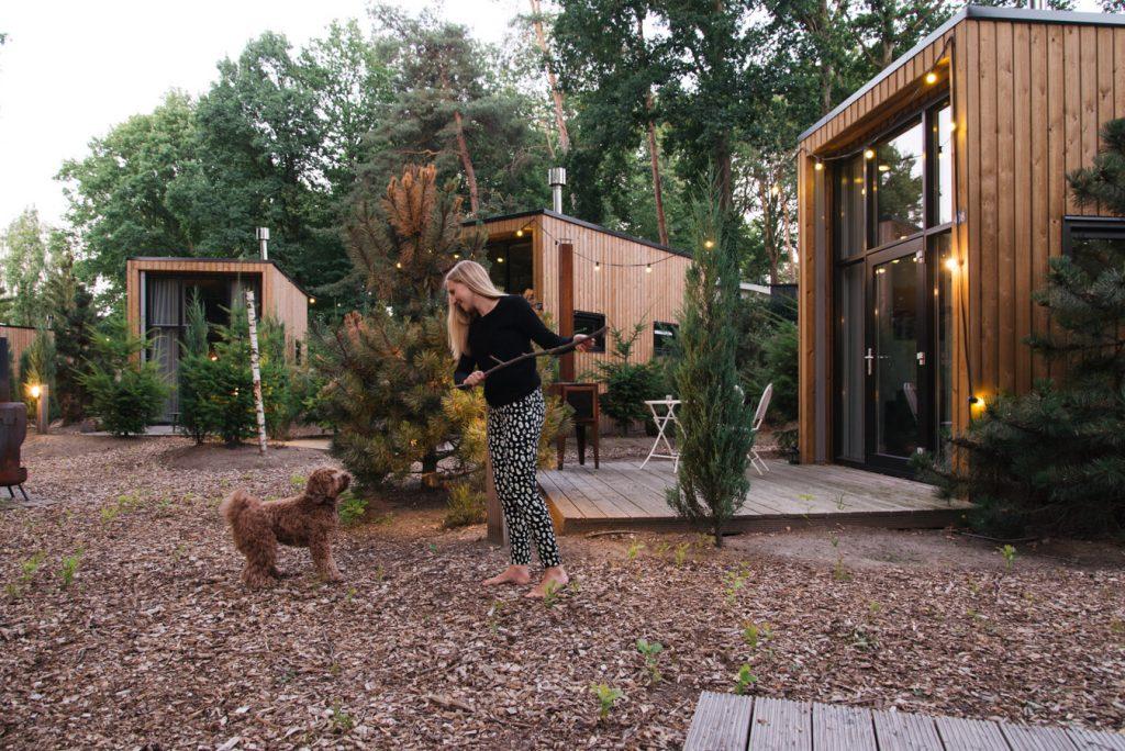 Tiny House overnachting droompark maasdiuinen honden toegestaan