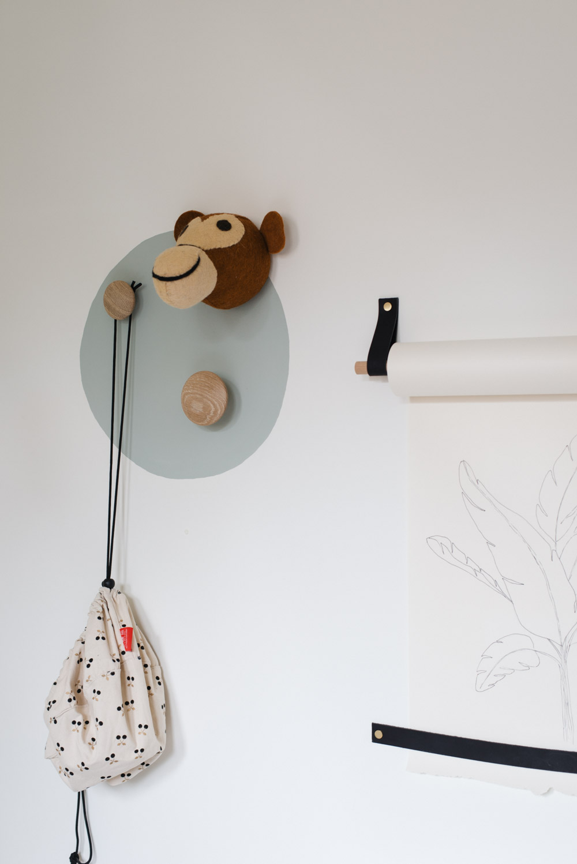 speelhoekje peuter cirkel op muur tranquil dawnl