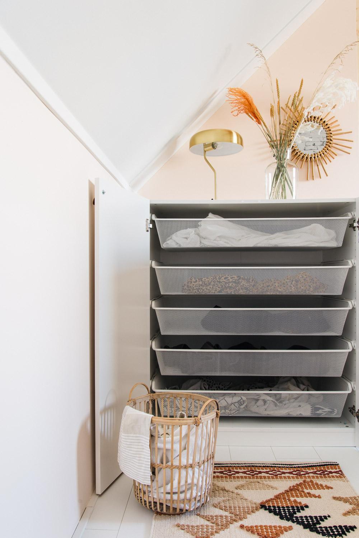 IKEA hack PAX kast waskast maken